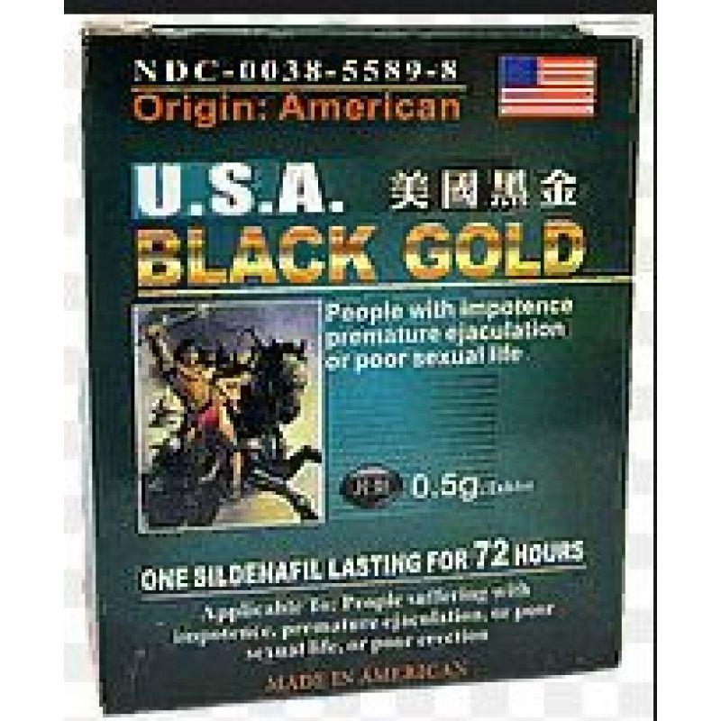 Black gold USA - черное золото (16 таблеток)