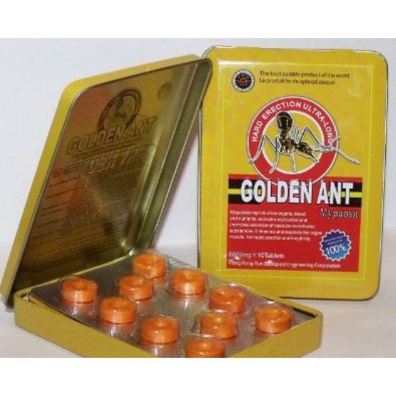 Golden Ant - Золотой Муравей (10 таблеток)